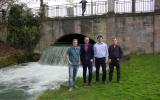 účastníci exkurze v parku Englischer Garten