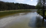 revitalizovaná řeka Isar v Mnichově