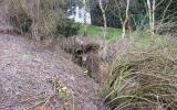 stržová eroze pod propustkem