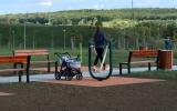 fitness hřiště láká ke zlepšení fyzické kondice nejen seniory