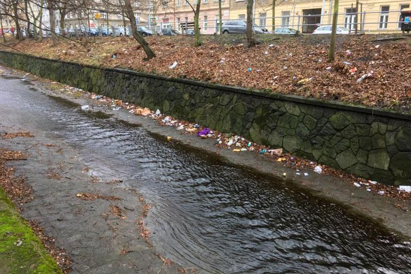 odpadky u Botiče