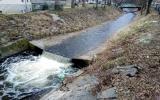 Odpadky v pražských vodních tocích