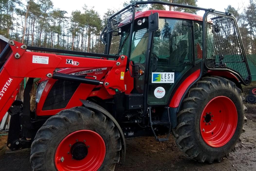 nástavby na traktor