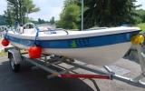 Nový člun na Hostivařskou přehradu