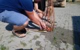 kurz pletení košů v ekocentru Prales