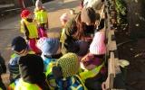 K liščímu výběhu jsme spolu s dětmi umístili cedulku o sponzorství