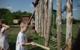 Cesta dřeva - dendrofon