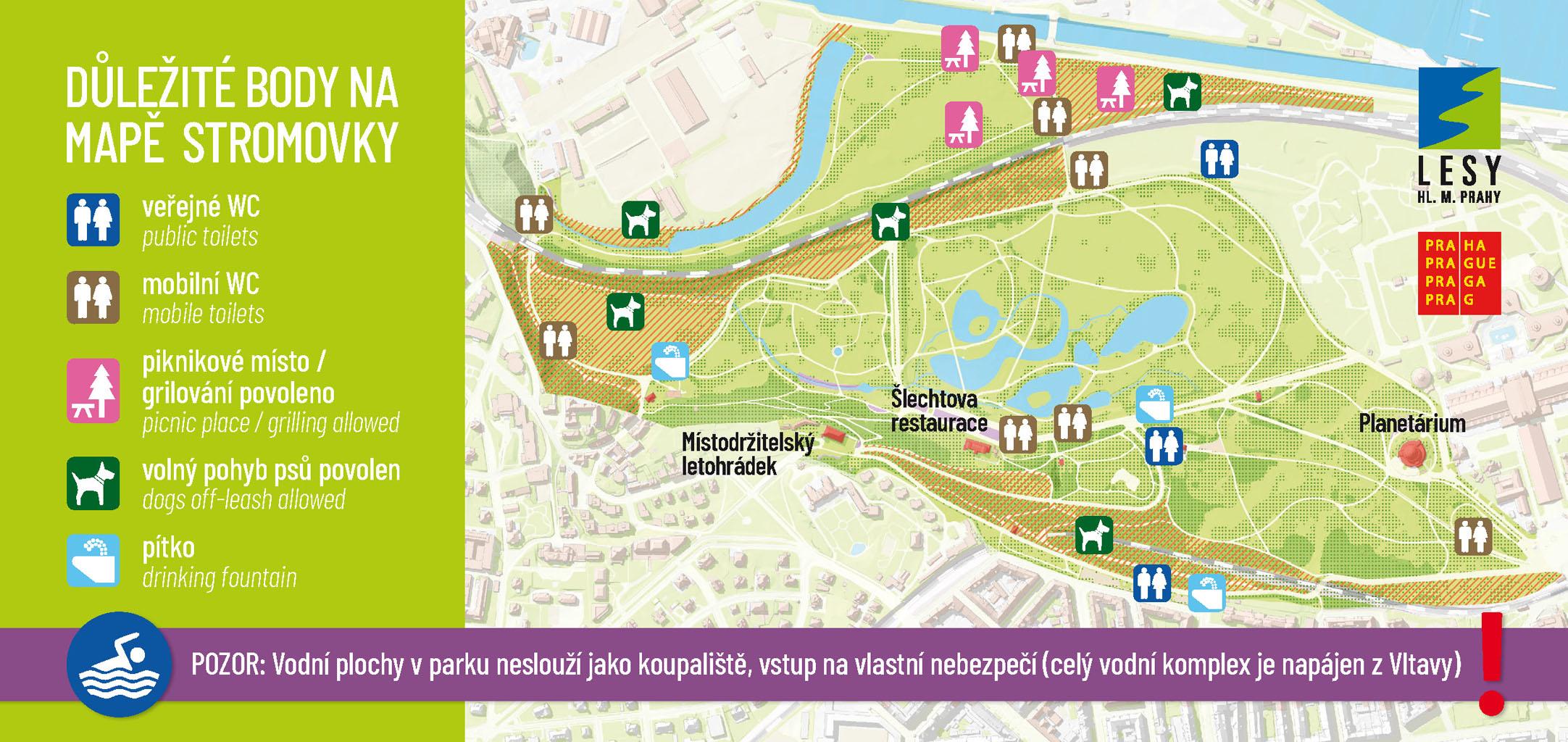 stromovka-mapa